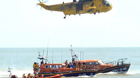 Southwold Lifeboat Day 2015