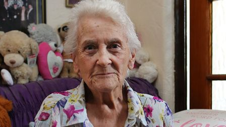 Jean Hurley, 83, was conned out of her life savings by a man posing to be a gardener. He stole �8,00