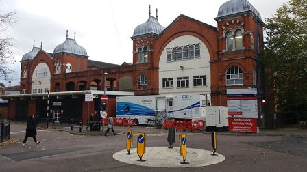 The clinic has opened at Whipps Cross University Hospital in Leytonstone. Picture: Ken Mears