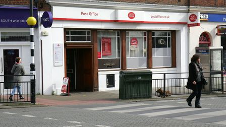 The Post Office in George Lane, South Woodford.
