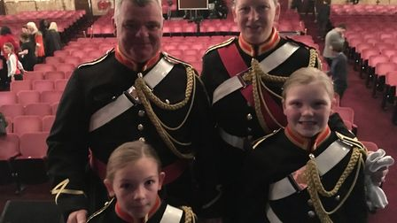 Mark Ellis, Amanda Freestone and their daughters, Poppy and Lily-Rose are members of The Royal Briti