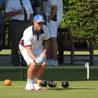Steve Mitchinson of Romford bowls club lost in the semi final of the pairs