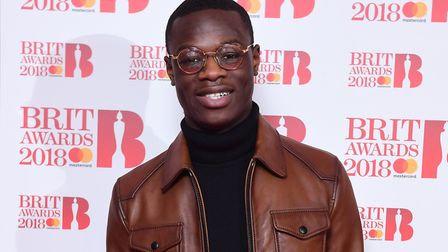 J Hus has been charged with possession of a knife. Pic: PA/Ian West