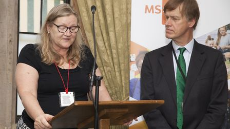 Caryl Tandy, who has lived with MS for more than 20 years. Picture: Rebecca Cresta/MS Society