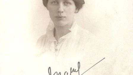 A photo of Alison Botteril's grandmother, Mary Jamieson