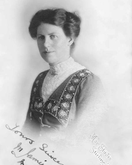 A photo of Alison Botteril's grandmother, Mary Jamieson at the age of 21, dated March 1, 1914.