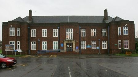 St George's Hospital, Suttons Lane, Hornchurch, the site of a proposed 279 home redevelopment.