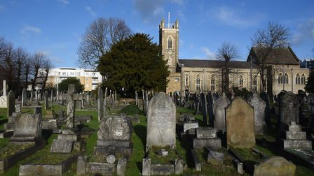 The court heard that the victim's body was wheeled to the cemetery in a shopping trolley. Picture: K