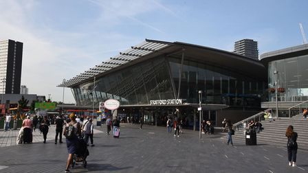 The trial took place around Stratford station. Picture: Ken Mears
