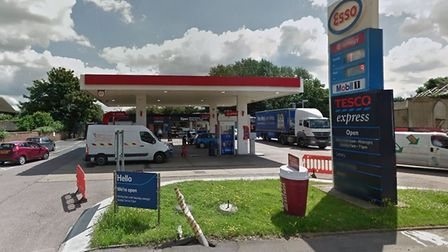 South Ockendon's Esso Garage in North Road was ram raided on Friday night. Photo: Google Maps