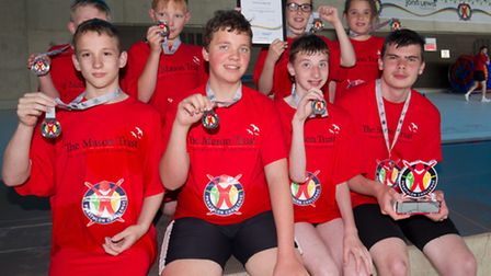 Ashley School compete in Panathlon Challenge at London & South East England Swimming Finals.