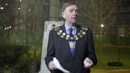 Sir Robin Wales was the mayor at the time of the deal. Picture by Ellie Hoskins