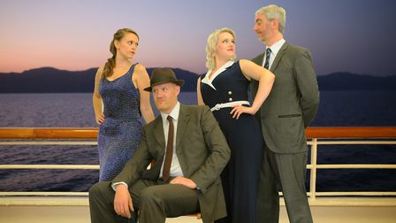 Havering Music Makers bring their musical Anything Goes to Queen's Theatre in Hornchurch. Picture: P