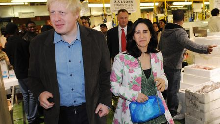 Boris Johnson and his wife Marina Wheeler are now in the process of divorcing Photo: PA / Stefan Ro