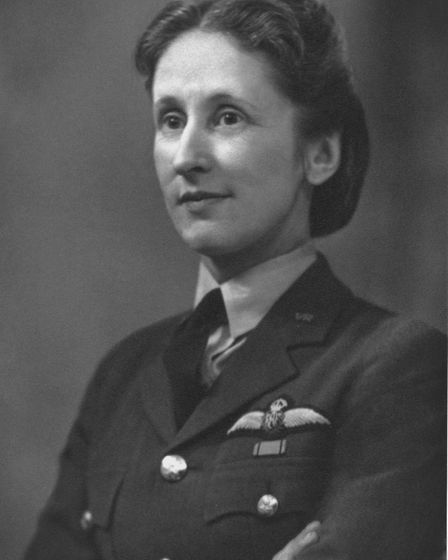 Jean Lennox Bird in the 1950s. Pic: Crown Copyright, courtesy of the RAF Museum