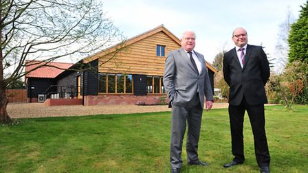 Ivy House country hotel, Oulton Broad.Adrian Parton (left) and Keith Parton.
