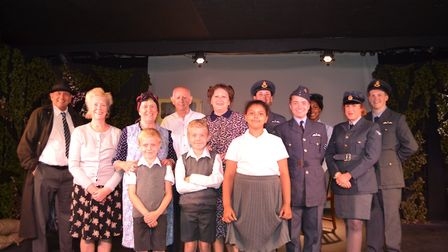 More than 25 people took part in this year's community play, The Good Intent at The Brookside Theatr