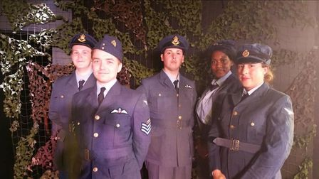 The Good Intent, a community play about a heroic American pilot is coming to Brookside Theatre. Pict