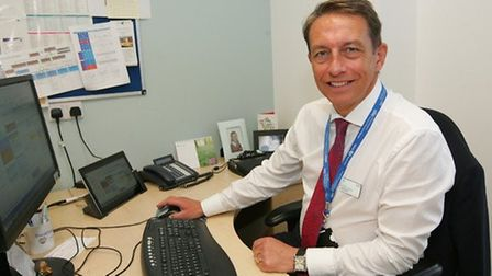 Matthew Hopkins, chief executive of the Barking, Havering and Redbridge University Hospitals NHS Tru