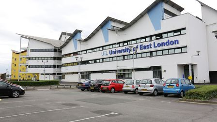 Students at the University of East London are among the most satisfied in London. Picture: Steve Pos