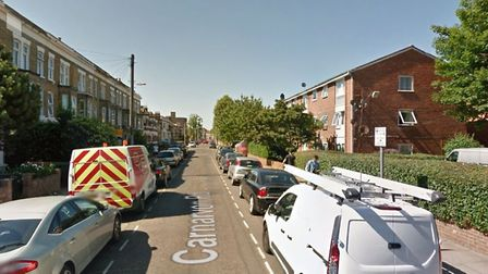 The carjacking took place in Carnarvon Road Picture: Google Maps