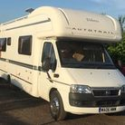 Contact the police if you see this mobile home. Picture: Jane Goff