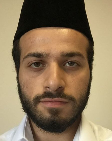 Trainee Imam Mustafa Siddiqi was among the estimate five hundred Redbridge residents who joined Jals