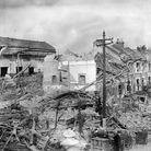 Properties damaged during the Blitz as bombing raids cause havoc in London. Picture: PA Archive/PA I