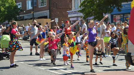 The seventh Collier Row Carnival and Family Fun Day was a success with residents enjoying a special
