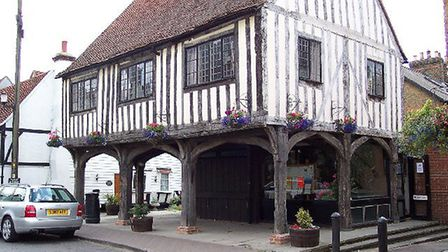The Woolmarket in Horndon-on-the-Hill resembles Thaxted's famous Guildhall. Picture: Wikicommons/Ron