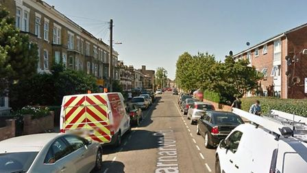 One of the robberies took place in Carnarvon Road, Stratford. Picture: Google Maps