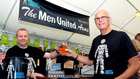 Norman Warrior Beer Festival 2015: Shaun Waters and Mike Willgoss