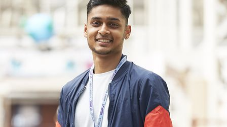 Former NewVIc (Newham Sixth Form College) student Hanson Fernandes. Photo by NewVIc (Newham Sixth Fo