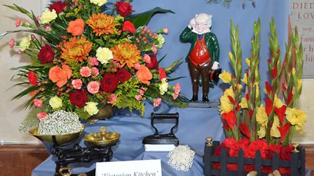 Somerleyton church flower festival 2015. Pictures by Mick Howes.