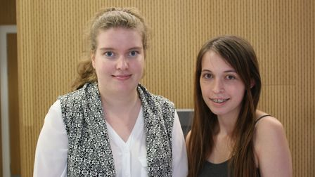 Georgina Curtis and Gabrielle Watts Picture: UEL