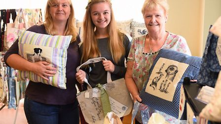 A craft fair being held at the Kirkley Centre which has been organised by Barbara Larkin.Kareena Cha