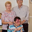 The Roper family (left to right: Eve, Paul and Chris).