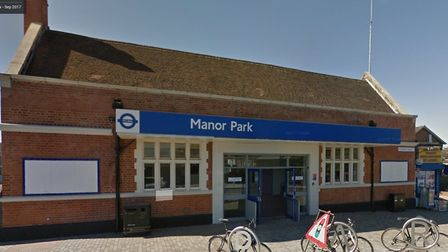 Police are appealing for information regarding the alleged assault at Manor Park station. Picture: G