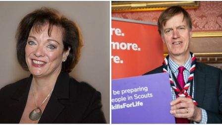 West Ham MP Lyn Brown and East Ham MP Stephen Timms. Pic: Lyn Brown/Martyn Milner