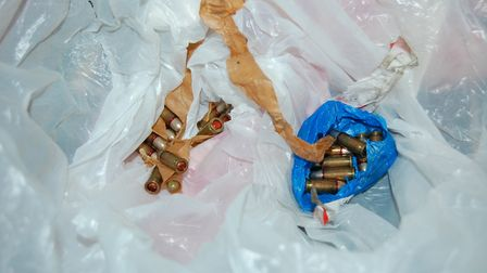 Walters was also found with ammunition. Pic:Met Police