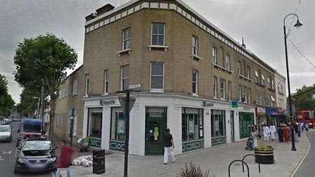 Lloyds Bank in High Street North, East Ham. Picture: Google
