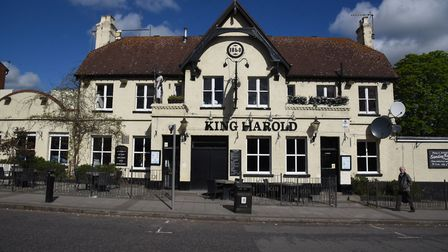 The King Harold pub in Harold Wood
