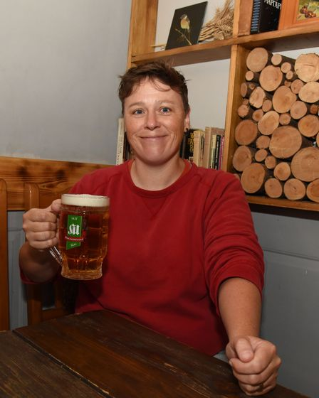 The Earth Station Brewery, which she set up with the help of arts charity Create London, will be a s