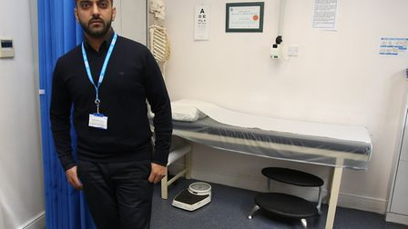 Dr Muhammad Naqvi, deputy chair of Newham CCG. Picture: Ellie Hoskins