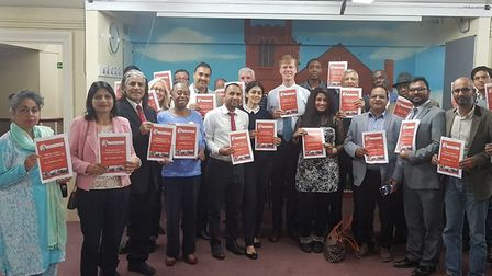 East Ham MP Stephen Timms and London Assembly Member Unmesh Desai discussed crime with east Londoner