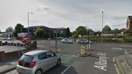 A youth has been arrested on suspicion of burglary and dangerous driving after a getaway car crashed