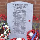 The youth spat on this police war memorial. Pic: Met Police.