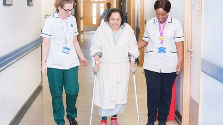 Barts Health NHS Trust scored top marks for cleanliness, its food services and the condition, appear