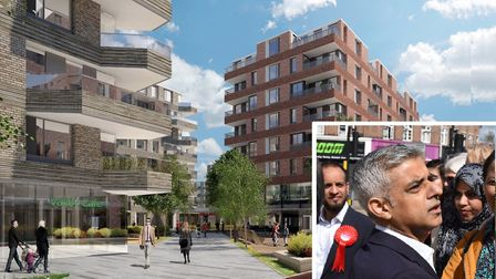 The Mayor of London has given the green light for 600 homes to be built on the former Romford ice ri