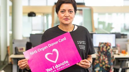 Newham mayor Rokhsana Fiaz has pledged support for Organ Donation Week. Picture: Andrew Baker